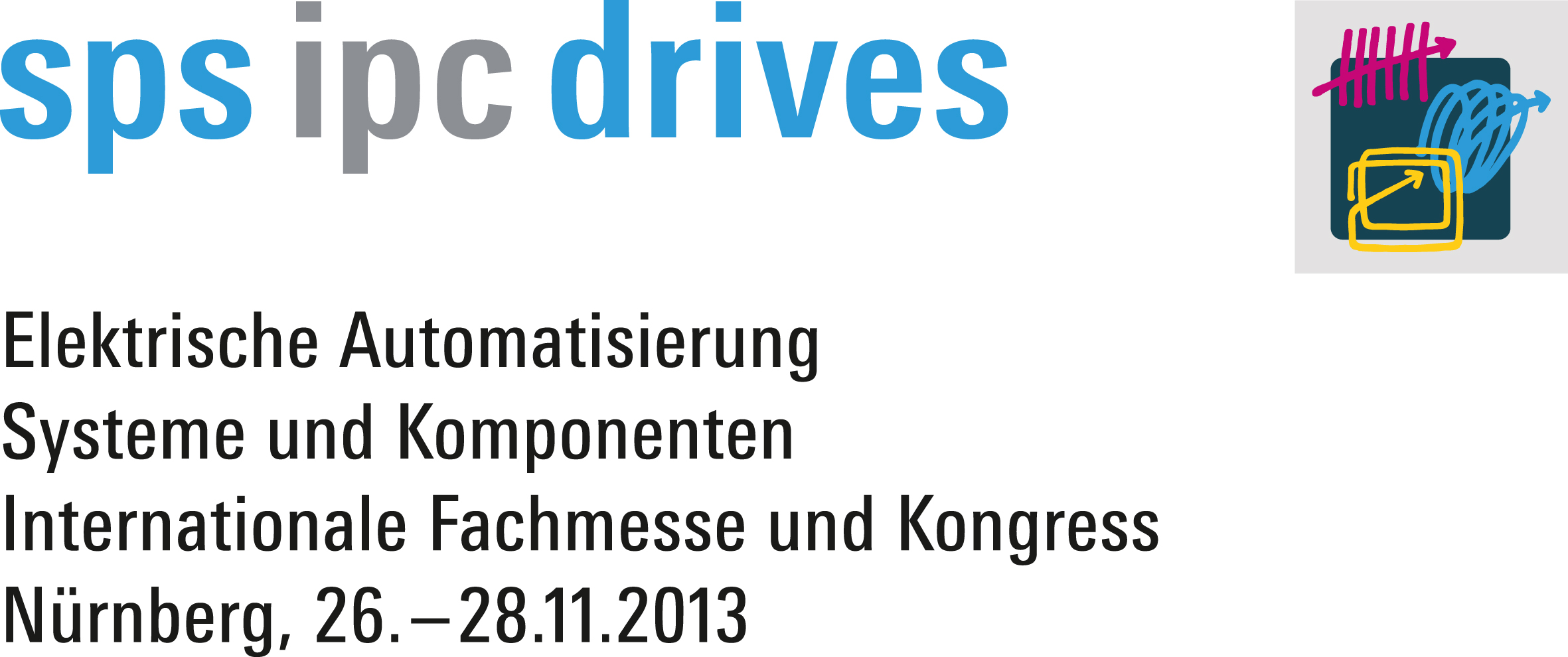 Logo SPS IPC Drives 2013