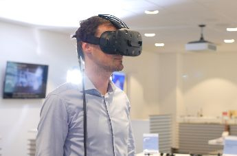 Virtual Reality at trade fair